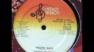 David Simmons - Holdin