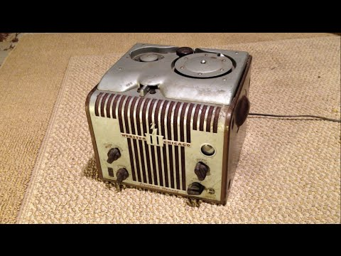1940s Webster Chicago Wire Recorder Guitar Amp Conversion (PART 1)