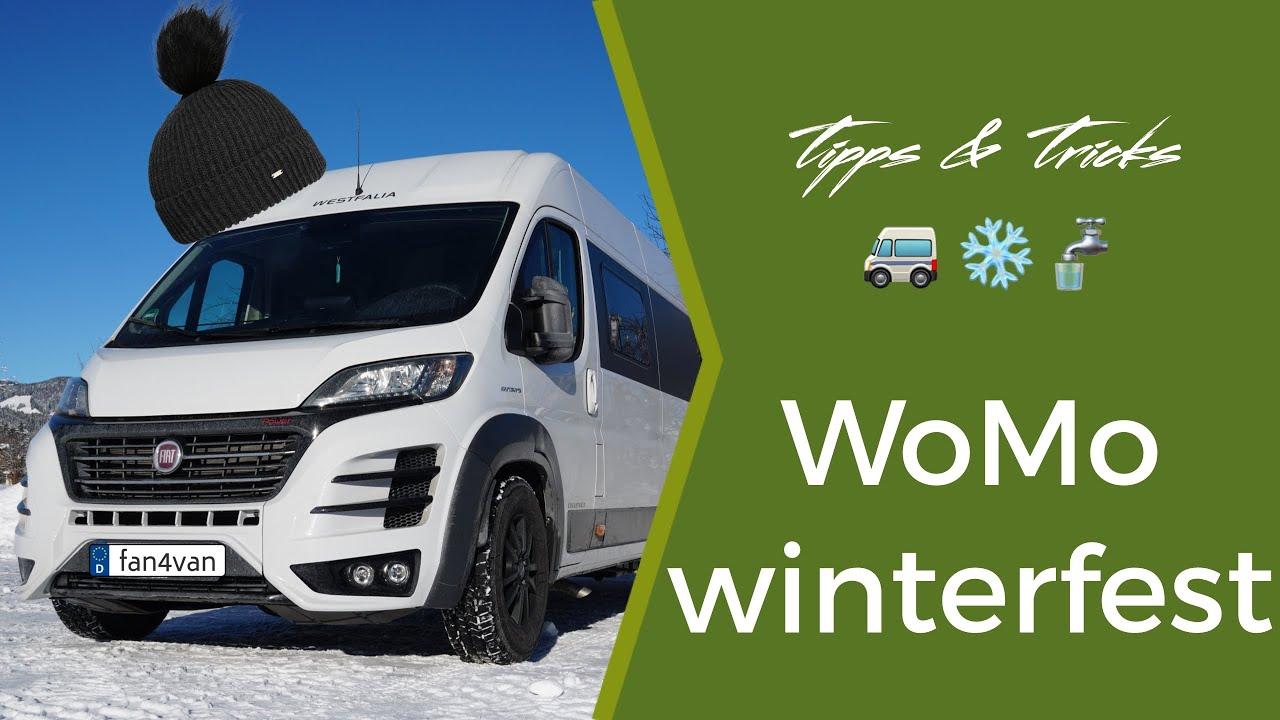 Wohnmobil winterfest machen