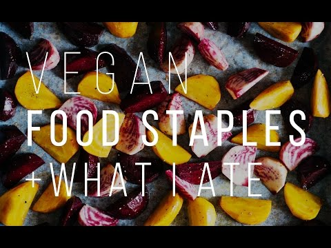 WHAT I ATE TODAY + MY VEGAN FOOD STAPLES | Good Eatings