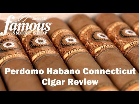 Perdomo Habano Connecticut Cigars Overview - Famous Smoke Shop