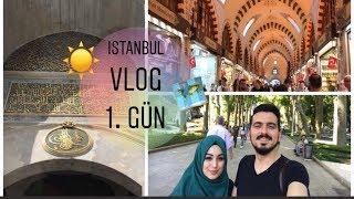 VLOG | İSTANBUL'DA 1. GÜNÜMÜZ - EMİNÖNÜ, GÜLHANE, AYASOFYA, SULTANAHMET | #herşeyaşkla