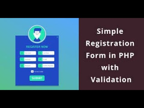 php-tutorial-|-how-to-make-a-login-form-with-password-validation