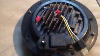 jw speaker 8700 evolution 2 installation land rover defender my2015