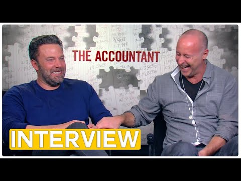 The Accountant  Ben Affleck & Gavin O'Connor Exclusive