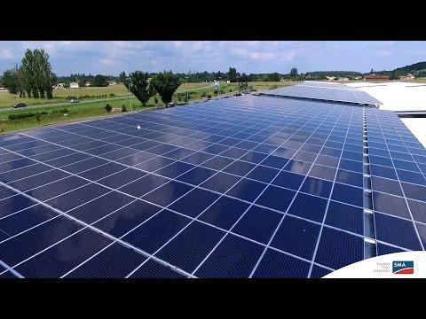 Témoignage client : installation photovoltaïque en autoconsommation sur ombrières d'un hypermarché