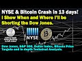 NYSE & Bitcoin price live! Crash in 3 days - US stock ...