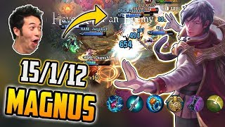 PLAYED MAGNUS IN RANK AND THIS HAPPENED...[MID-CP MAGNUS GAMEPLAY] VAINGLORY UPDATE 3.9