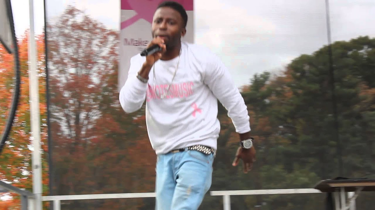 B. Notes Performance At The Breast Cancer Walk in Prospect Park #Breast  Cancer