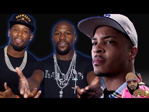 T.I. DOG WALKS Floyd Mayweather DJ With 5 G00NS | DJ Says HE'S COMING BACK FOR T.I.