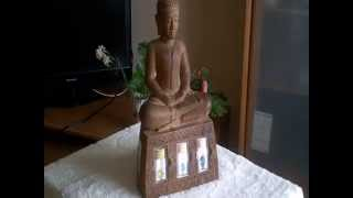 design ideas - unusual home decorations - Buddha Statue - 仏の装飾