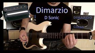 Dimarzio D sonic Pickup Comparison