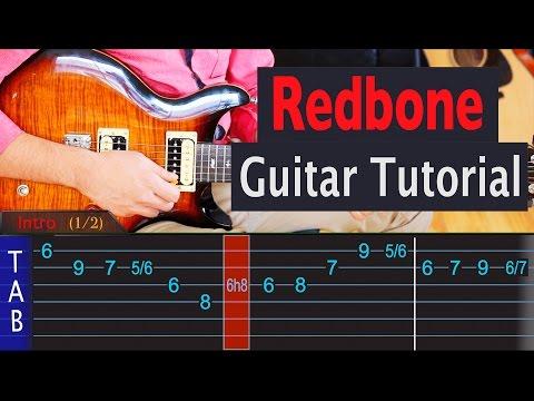 Redbone - Childish Gambino - Guitar Lesson