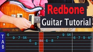 Redbone - Childish Gambino - Guitar Lesson
