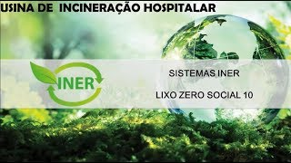 INER - USINA DE INCINERAÇÃO HOSPITALAR