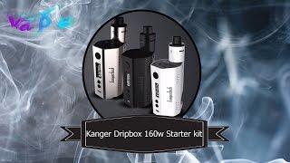 Обзор Kanger Dripbox 160w Starter Kit: Squonk- Мод с велосити стойками