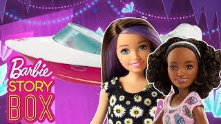 Skipper and Nikki get trapped in a Cave! How will They get out? | Barbie Story Box | Barbie