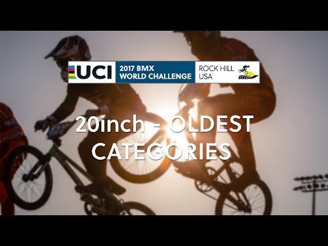 2017: Worlds Challenge - 20inch Oldest categories