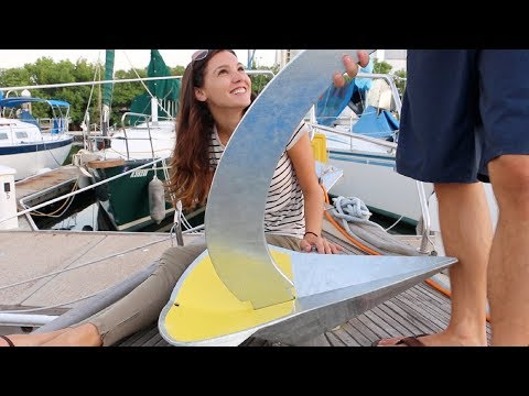 10] Our 100LB ANCHOR | Abandon Comfort - Sailboat Restoration