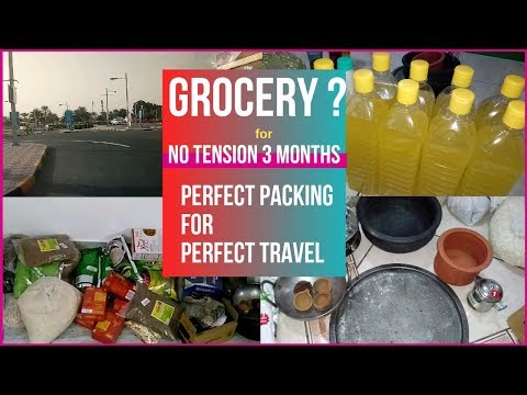 Packing tips for travel in Tamil | Grocery Packing hacks | Good packing ideas | Check in bag packing