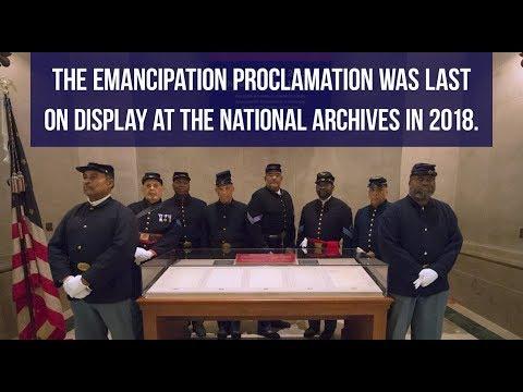 Emancipation Proclamation 156th Anniversary at National Archives-2019