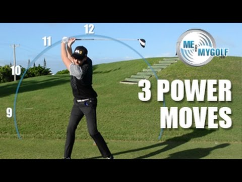 3 POWER MOVES FOR LONG DRIVES