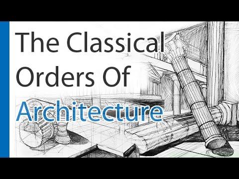 Doric Columns, Ionic Columns, Corinthian Columns (Classical Architecture And Architectural Columns)