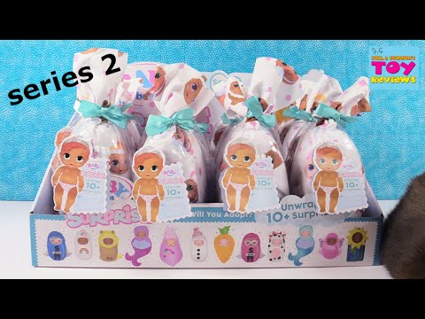 Baby Born Surprise Series 2 Blind Bag Doll Color Change Opening | PSToyReviews