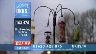 Bird Feeding Station & Feed From Ukhs.tv