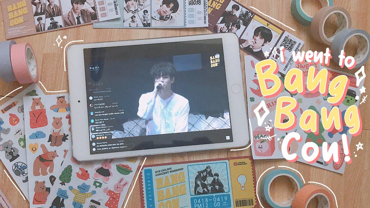 my bts bangbangcon experience 🌈 // vlog #2