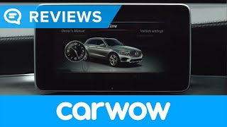 Mercedes GLC SUV 2018 infotainment and interior review   Mat Watson Reviews