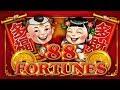 ANOTHER BIG WIN on 88 FORTUNES SLOT POKIES BONUSES & PROGRESSIVES