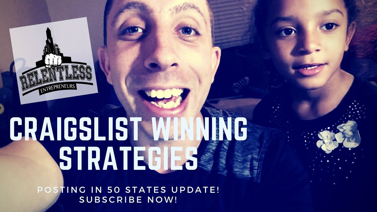 Craigslist Posting 50 States Update 12/13/18 - YouTube