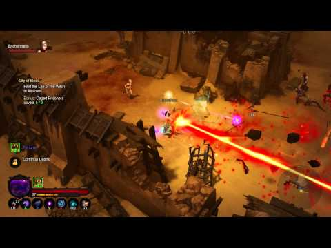 Diablo 3 RoS  Act 2  Quest 3  City of Blood  Part 1