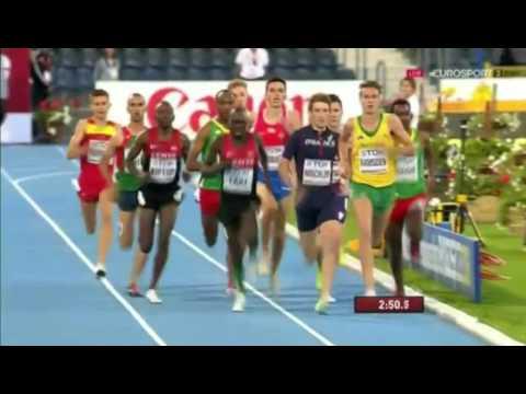 1500m Men's Final - World Junior Championships Bydgoszcz 2016