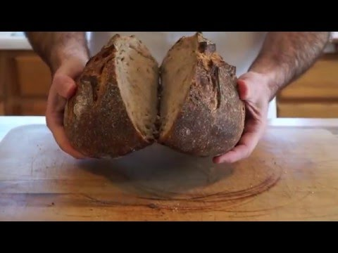 How to Make 50% Whole Wheat Sourdough Bread