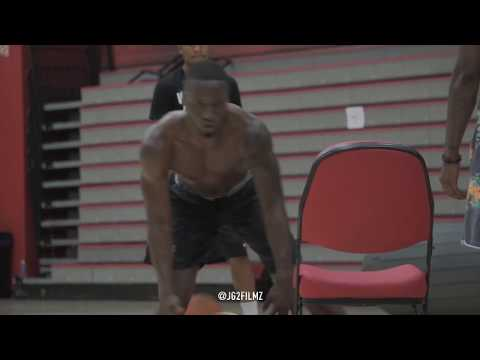 Montgomery College Sophomore Guard Anthony Thomas Kills his Late Night Workout!
