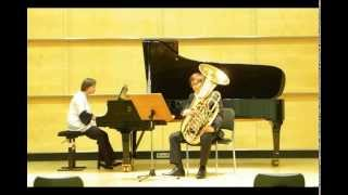 Concerto(RV484) for Tuba and Piano 1Movement - Antonio Vivaldi