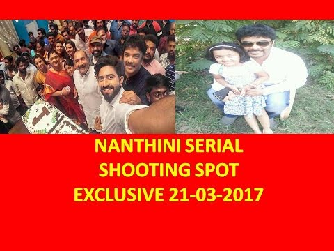 Nanthini Serial Shooting Spot Exclusive 21-03-2017