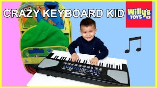Soundz Deluxe Concert 54-Key Electric Keyboard CRAZY REVIEW - Willy