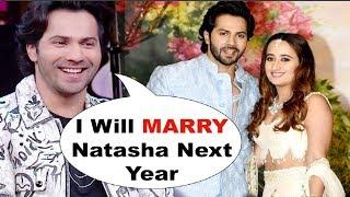 Koffee With Karan - Varun Dhawan CONFIRMS Marriage With GF Natasha Dalal