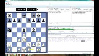 Fritz 13 vs Deep Fritz 12 chess engine Blitz 5m