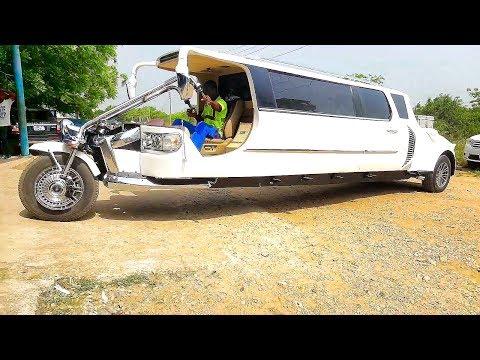 First Ever Motorbike Limousine - Kantanka Odeneho V8