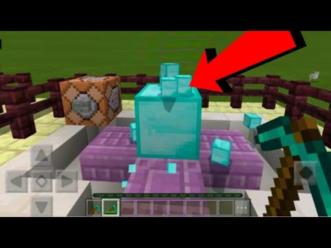 MCPE 1050 COMMAND BLOCK CREATIONTUTORIAL  HOW TO USE COMMAND