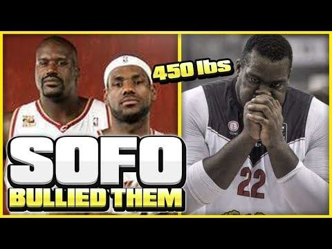 Meet The 450 LBS GREEK SHAQ Who BULLIED LeBron James! | Fattest Player Ever?