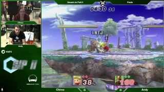 SiP2 - Chirou (Lucas) Vs. Andy (Wolf) - Pools - Project M