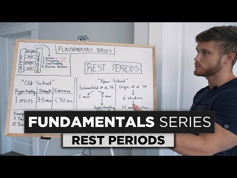 How Long Should You REST Between Sets? | Fundamentals Series Ep. 5