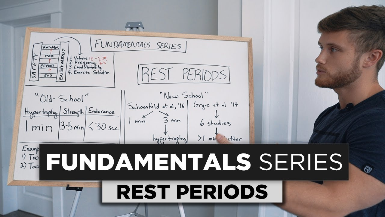 How Long Should You Rest Between Sets Fundamentals Series Ep 5 Youtube