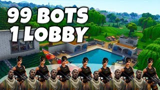 Worst Fortnite Lobby I Have Ever Seen | Bots + Potatoes