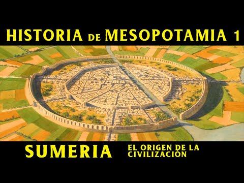 MESOPOTAMIA 1: Sumeria - El Origen de la Civilización (Documental Historia)